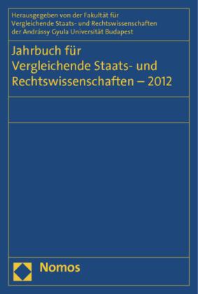 Jahrbuch für Vergleichende Staats- und Rechtswissenschaften - 2012