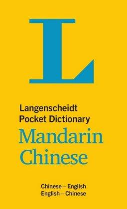 Langenscheidt Pocket Dictionary Mandarin Chinese