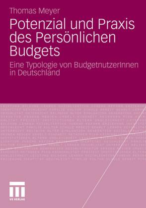 Potenzial und Praxis des Persönlichen Budgets