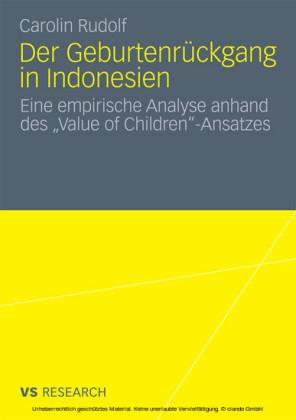 Der Geburtenrückgang in Indonesien
