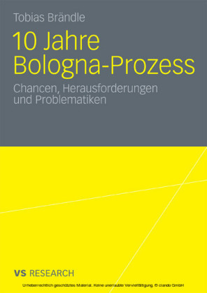 10 Jahre Bologna Prozess