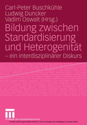 Bildung zwischen Standardisierung und Heterogenität