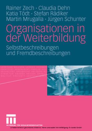 Organisationen in der Weiterbildung