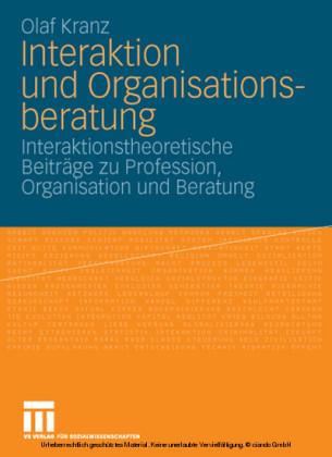 Interaktion und Organisationsberatung