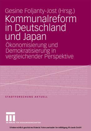 Kommunalreform in Deutschland und Japan