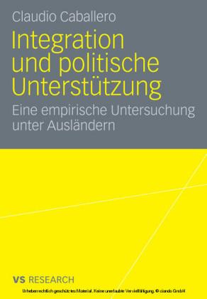 Integration und politische Unterstützung