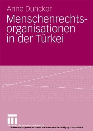 Menschenrechtsorganisationen in der Türkei