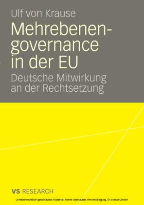 Mehrebenengovernance in der EU