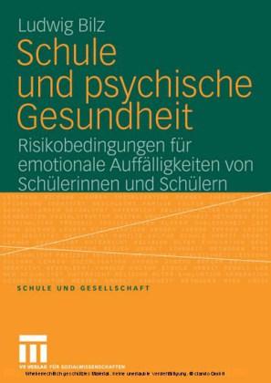 Schule und psychische Gesundheit