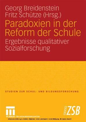 Paradoxien in der Reform der Schule