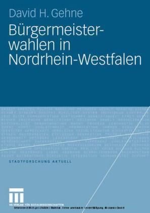 Bürgermeisterwahlen in Nordrhein-Westfalen