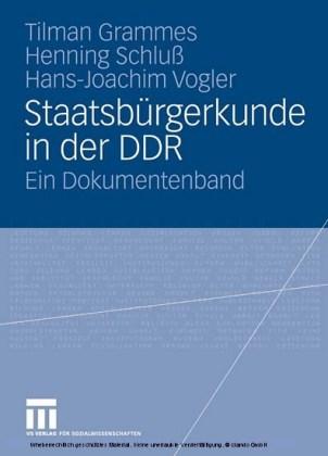 Staatsbürgerkunde in der DDR