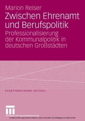Zwischen Ehrenamt und Berufspolitik