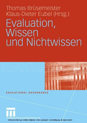 Evaluation, Wissen und Nichtwissen