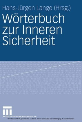 Wörterbuch zur Inneren Sicherheit