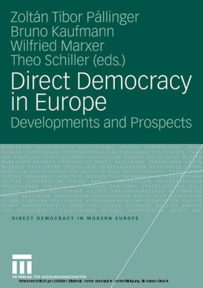 Direct Democracy in Europe