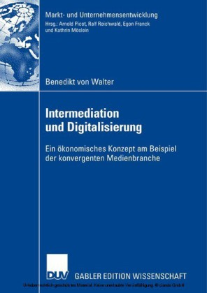 Intermediation und Digitalisierung