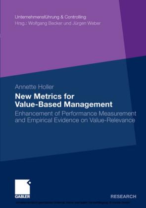 New Metrics for Value-Based Management