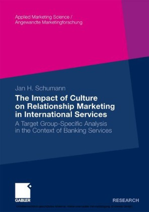 The Impact of Culture on Relationship Marketing in International Services