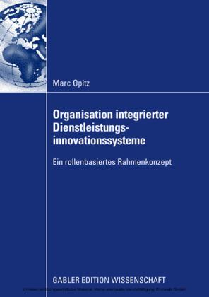 Organisation integrierter Dienstleistungsinnovationssysteme
