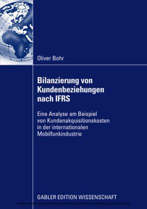 Bilanzierung von Kundenbeziehungen nach IFRS