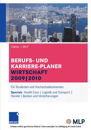Gabler MLP Berufs- und Karriere-Planer Wirtschaft 2009-2010