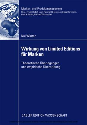 Wirkung von Limited Editions für Marken