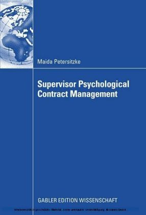 Supervisor Psychological Contract Management