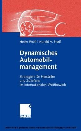 Dynamisches Automobilmanagement