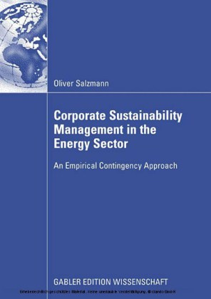 Corporate Sustainability Management in the Energy Sector