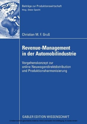 Revenue-Management in der Automobilindustrie
