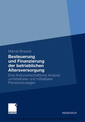 Besteuerung und Finanzierung der betrieblichen Altersversorgung