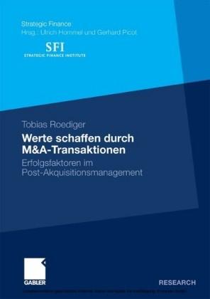 Werte schaffen durch M&A-Transaktionen