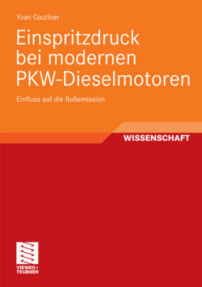 Einspritzdruck bei modernen PKW-Dieselmotoren