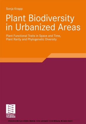 Plant Biodiversity in Urbanized Areas
