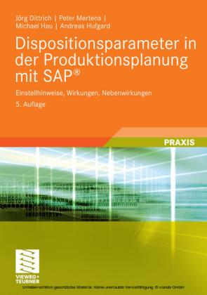 Dispositionsparameter in der Produktionsplanung mit SAP®