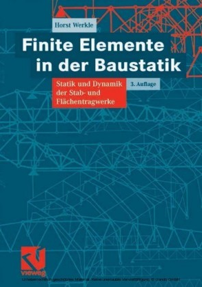 Finite Elemente in der Baustatik