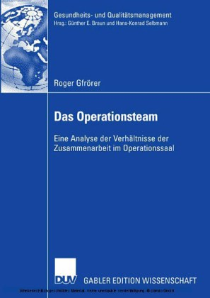 Das Operationsteam