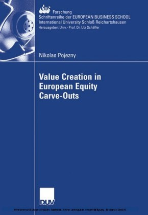 Value Creation in European Equity Carve-Outs
