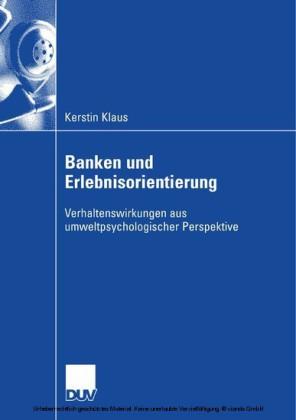 Banken und Erlebnisorientierung