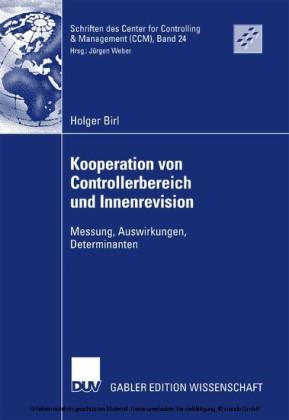Kooperation von Controllerbereich und Innenrevision