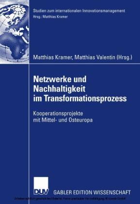 Netzwerke und Nachhaltigkeit im Transformationsprozess