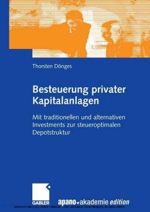 Besteuerung privater Kapitalanlagen