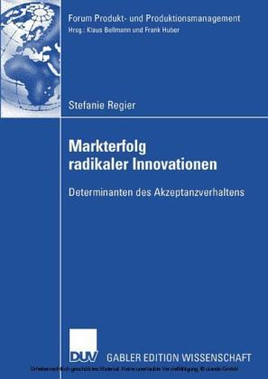 Markterfolg radikaler Innovationen