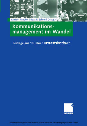 Kommunikationsmanagement im Wandel