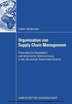 Organisation von Supply Chain Management
