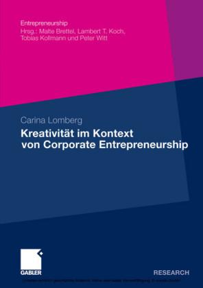 Kreativität im Kontext von Corporate Entrepreneurship