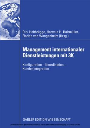 Management internationaler Dienstleistungen mit 3K