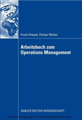 Arbeitsbuch zum Operations Management