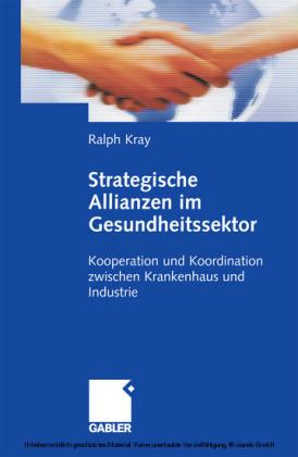 Strategische Allianzen im Gesundheitssektor